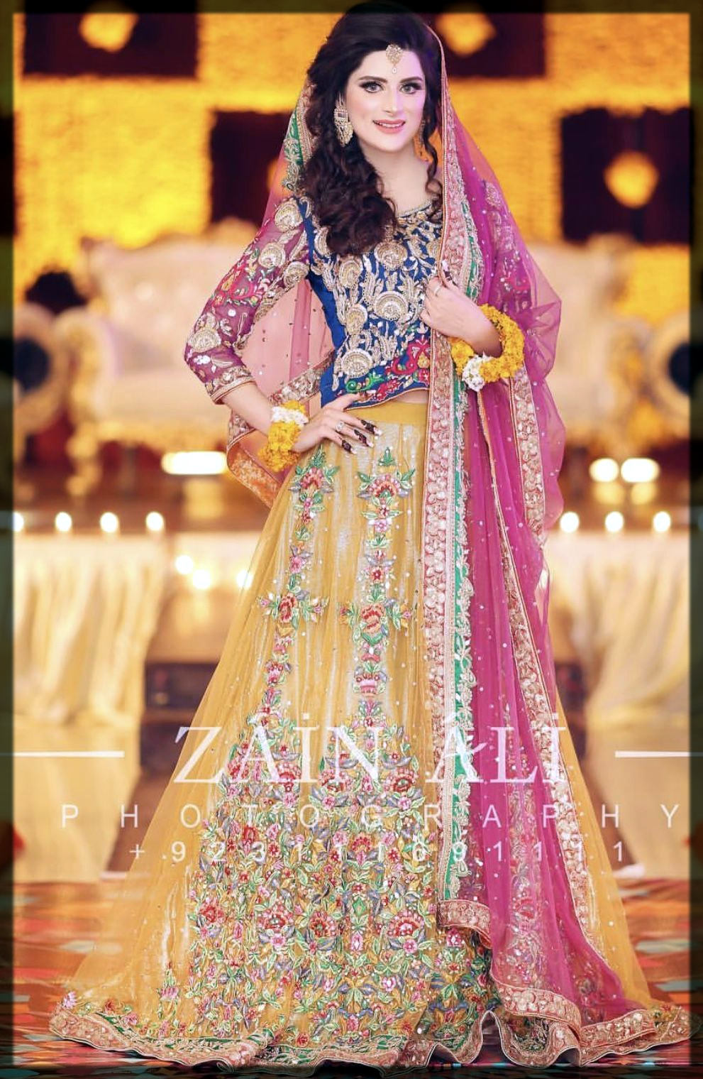 Latest Bridal Mehndi Dresses 2020 In Pakistan For All Mehndi Brides