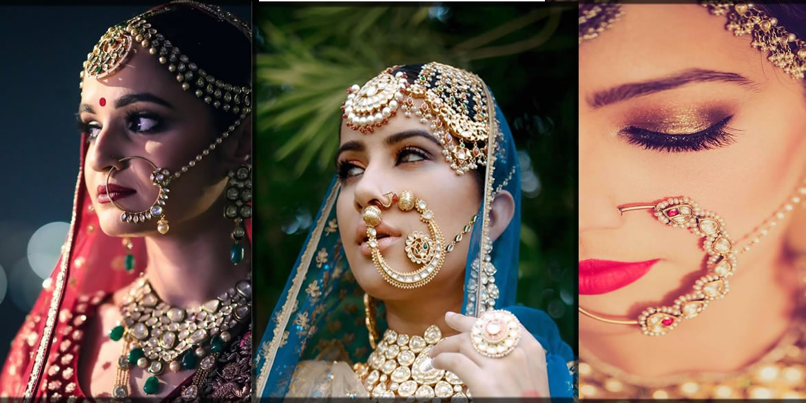 bridal nath for eastern brides