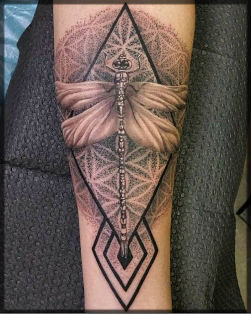 dragonfly tattoo ideas for men