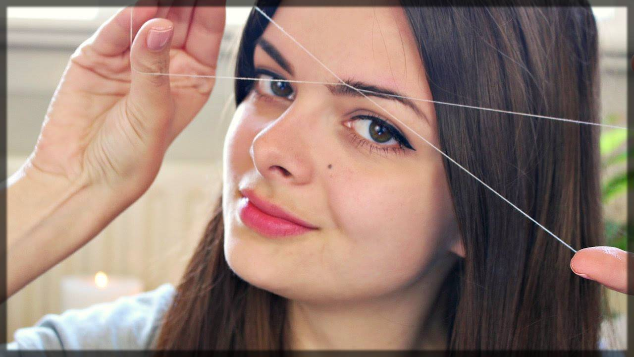 face threading - facial hair removal tips and tricks
