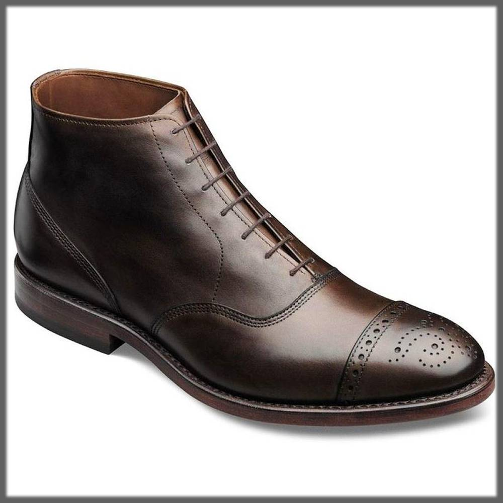 formal shoes for men with cap toe