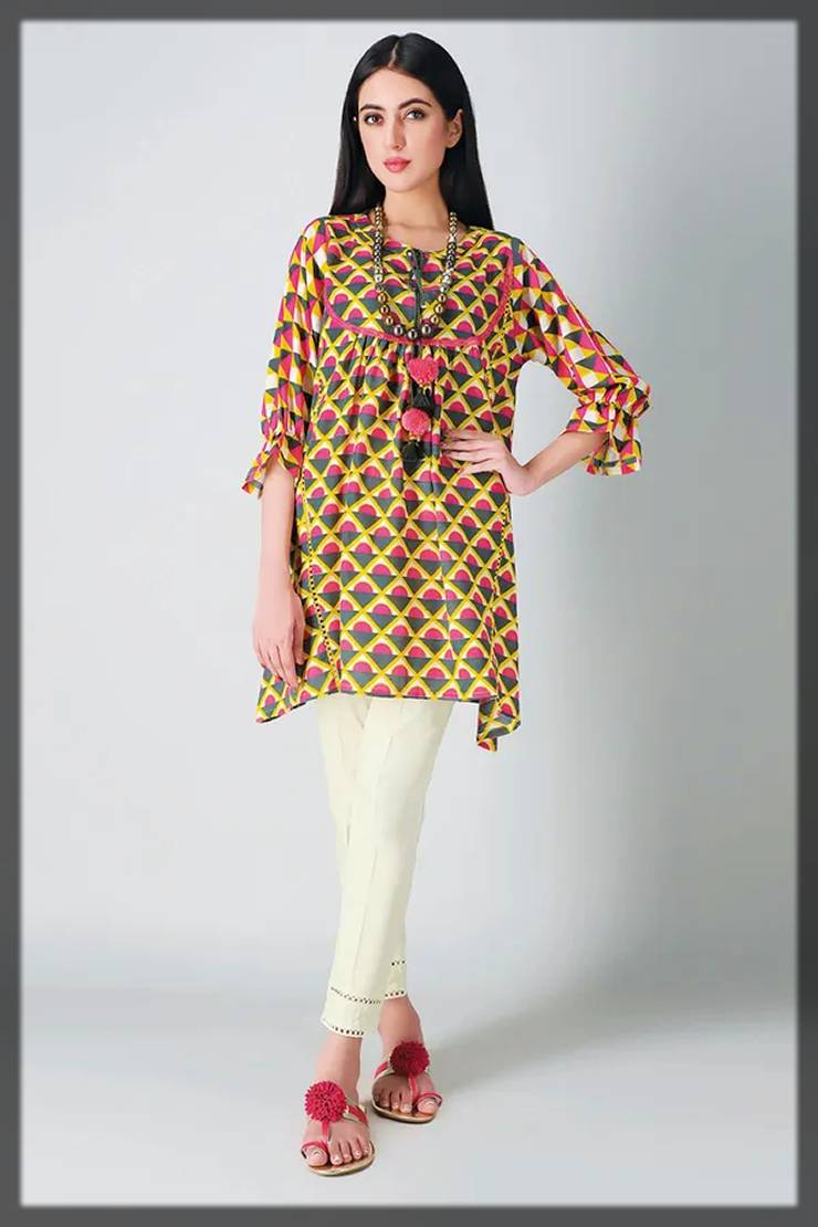 khaadi fall winter collection of unstitched printed 2-piece