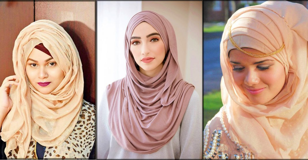 latest and trendy winter hijab styles 2020