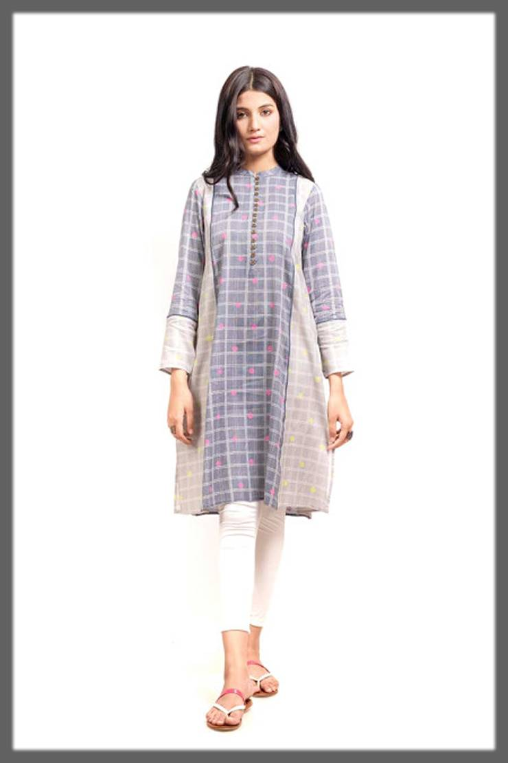 light shaded tunic for winters by ego