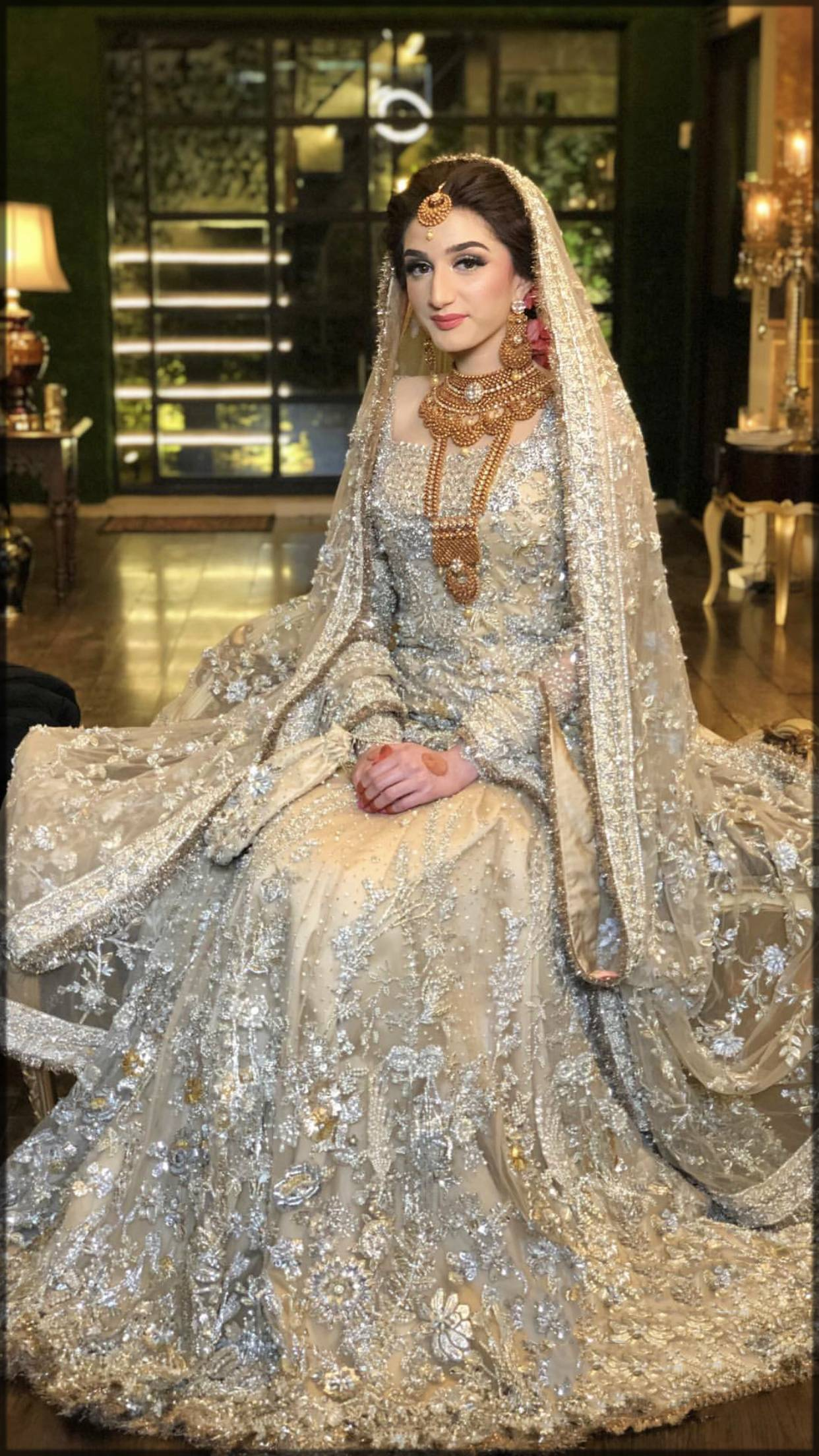 lovely frock for walima bride