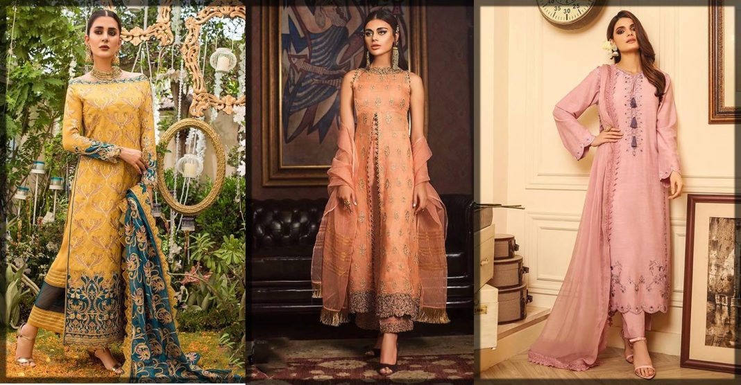 new asim jofa winter dresses collection for girls
