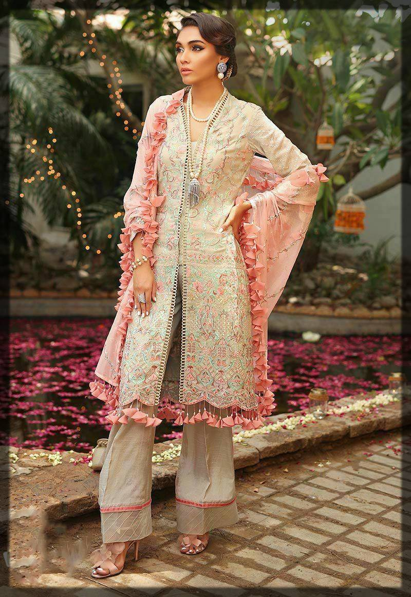 signature light shaded dress by asim jofa winter collection
