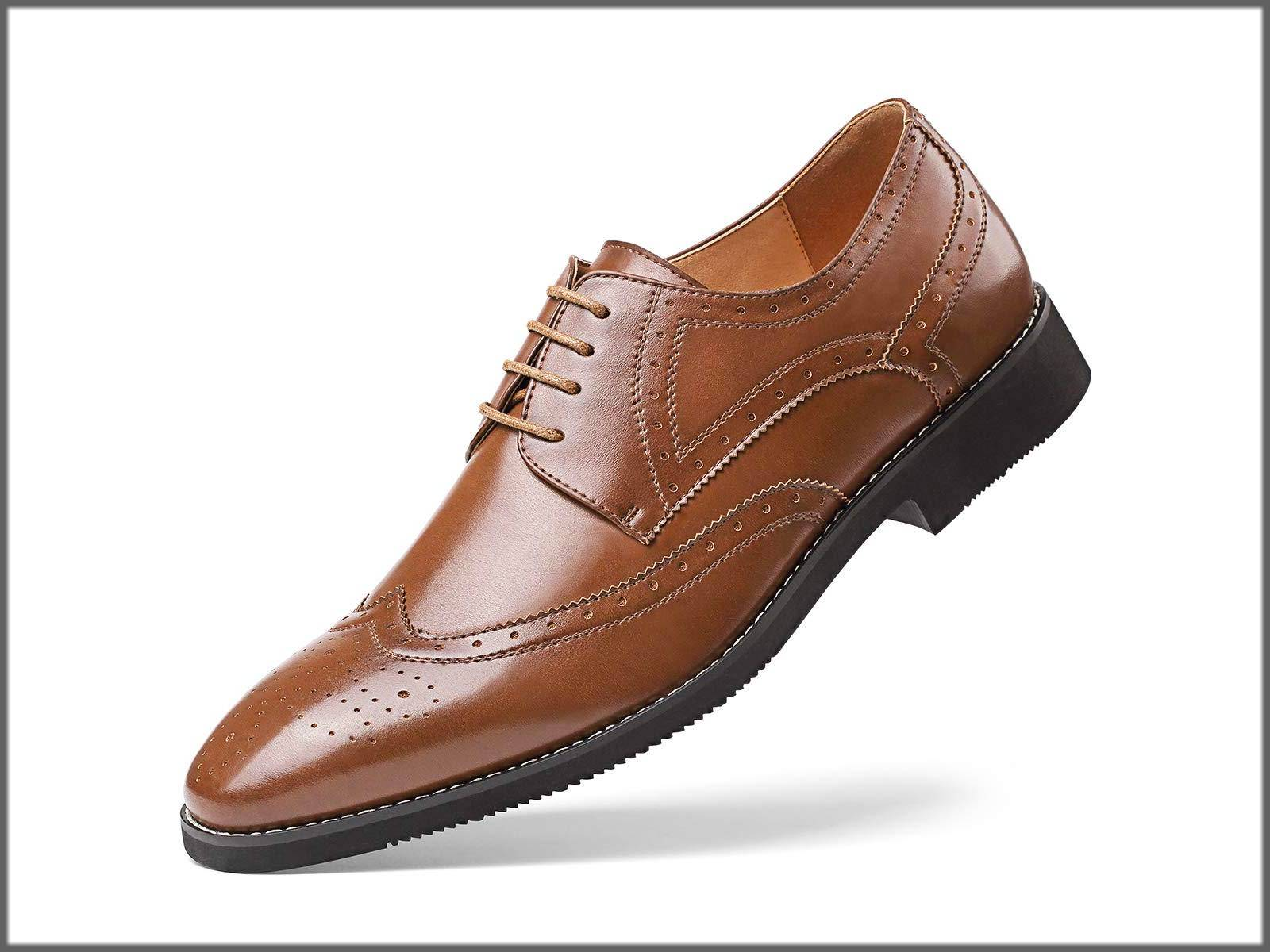 warm winter wear formal shoes for men - wedding shoes