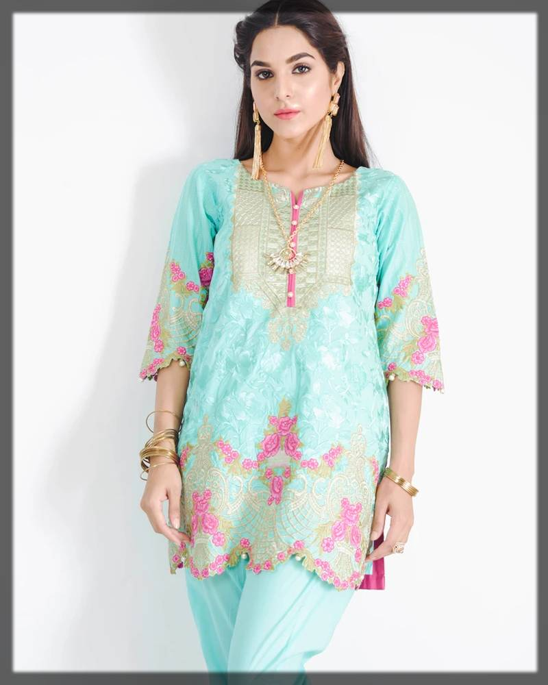 nimsay exclusive collection for formal events - 2-piece shirt and trouser in blue